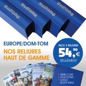 BOXR MAG RELIURES EUROPE DOM_TOM 2 RELIURES