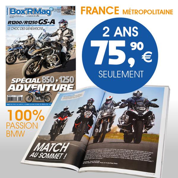 BOXR MAG ABONNEMENT FRANCE 2 ANS