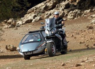 maroc en side car bmw