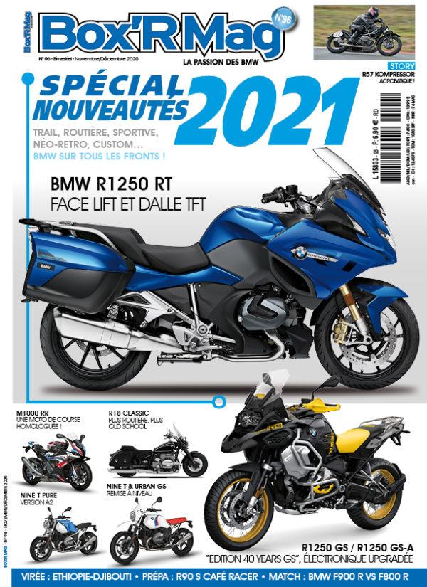 Couverture Box'R Mag numéro 96