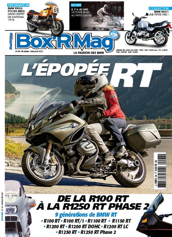 Couverture Box'R Mag numéro 98