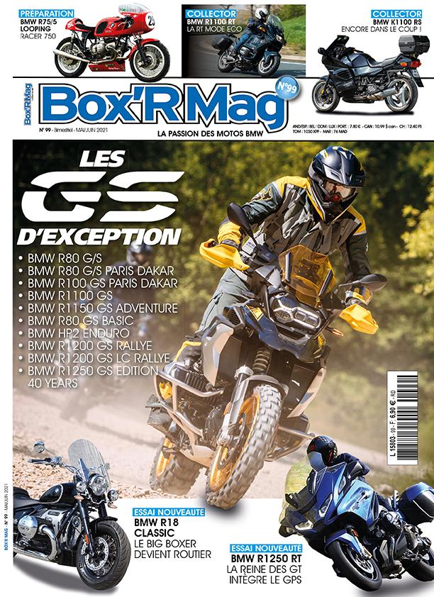 Couverture Box'R Mag numéro 99-mai-juin 2021