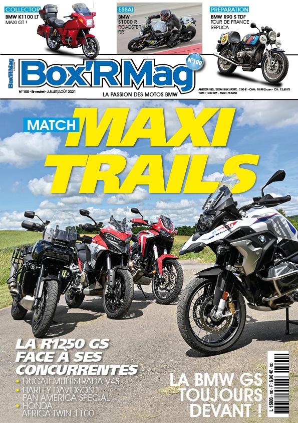 Couverture Box'R Mag numéro 100-juillet-aout- 2021