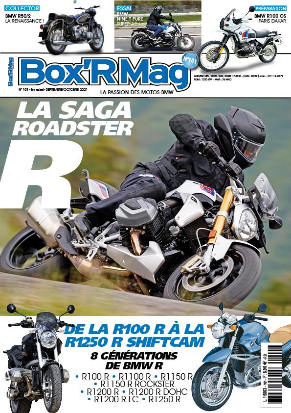 Couverture Box'R Mag numéro 101-septembre-octobre-2021